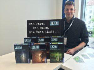 Exit Game Brettspiel vom Kosmos Verlag