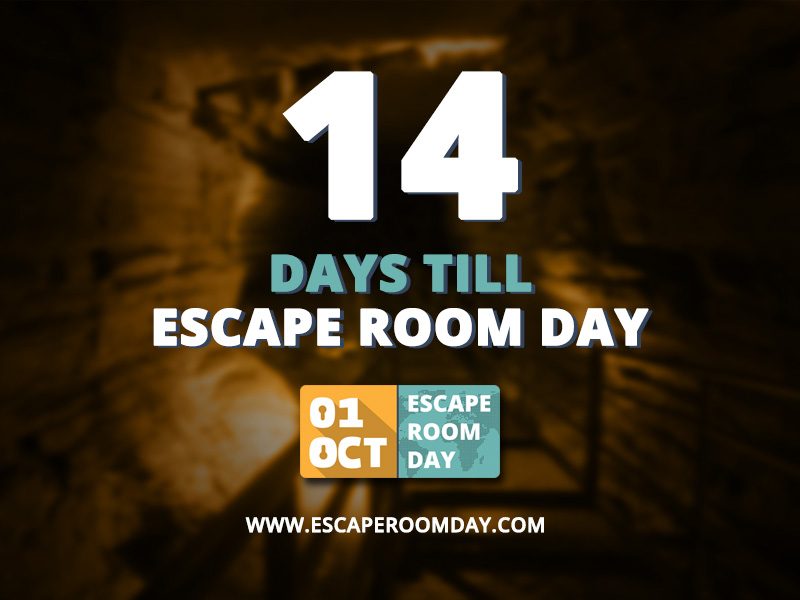 Escape Room Day Countdown 14