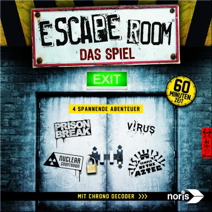 escape room das spiel noris verlag unpacking